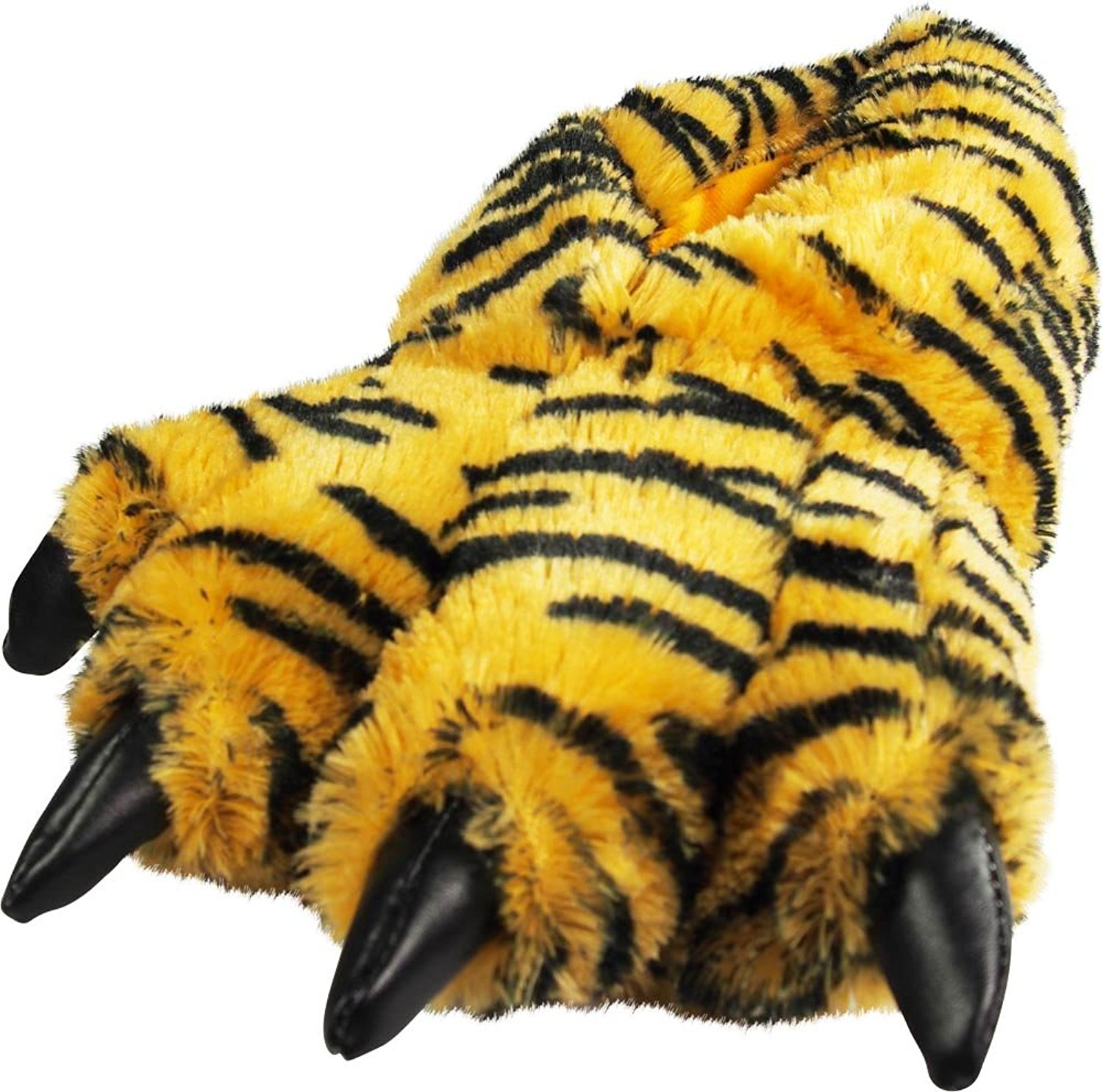 56a00559fa3a Get Quotations · NORTY Grizzly Bear Stuffed Animal Claw Slippers - Plush Paw  Slippers - Furry Animal Slippers -