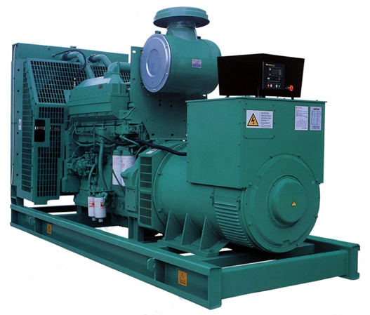 electric start 30kw/37kva diesel generator set with cummins engine