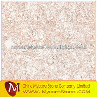 pink artificial stone,artificial sparkle marble