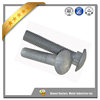 High strength Stainless steel carriage bolts with hex nuts