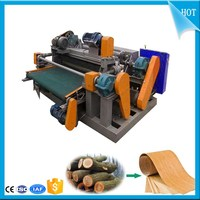 8 feet spindle less wood log veneer rotary peeling lathe machine