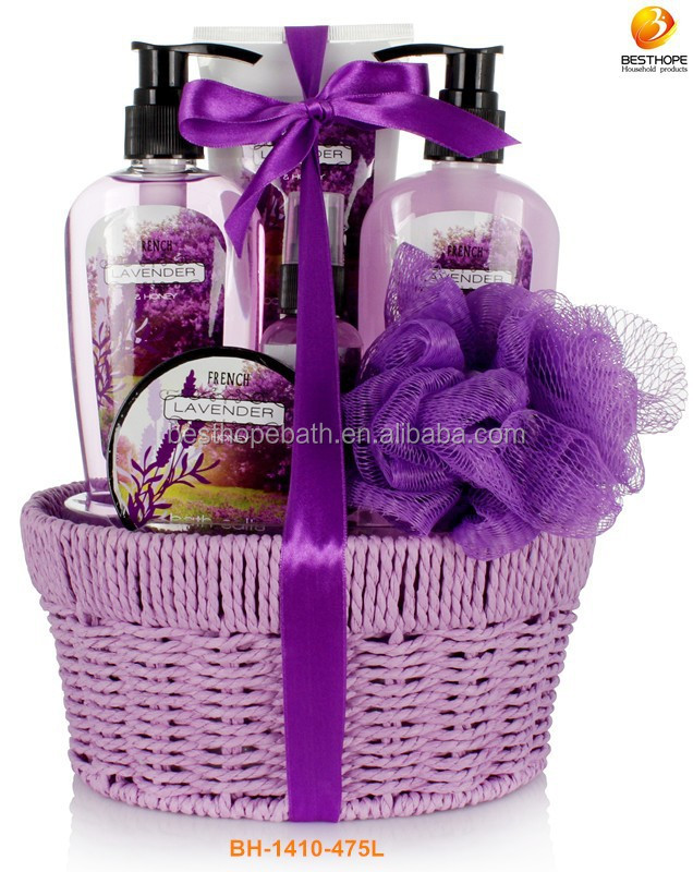 Beauty Spa Body Care Gift In Weave Basket - Buy Body Shop Gift ...