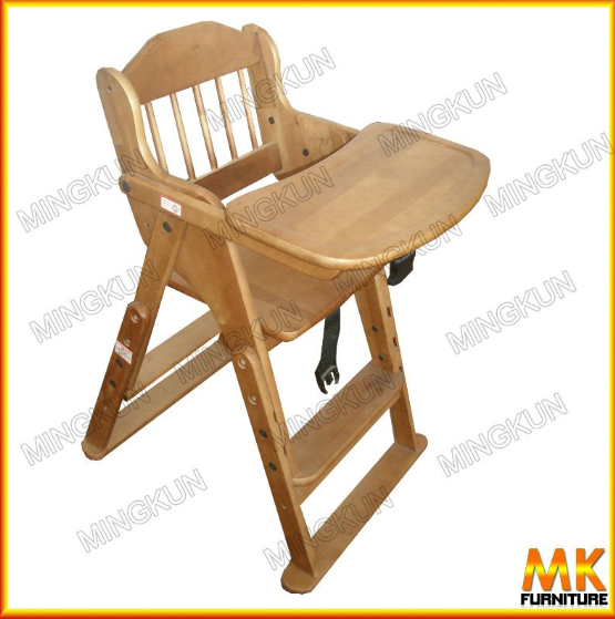 Beech Wood Furniture High Babyu0027s Food Chair