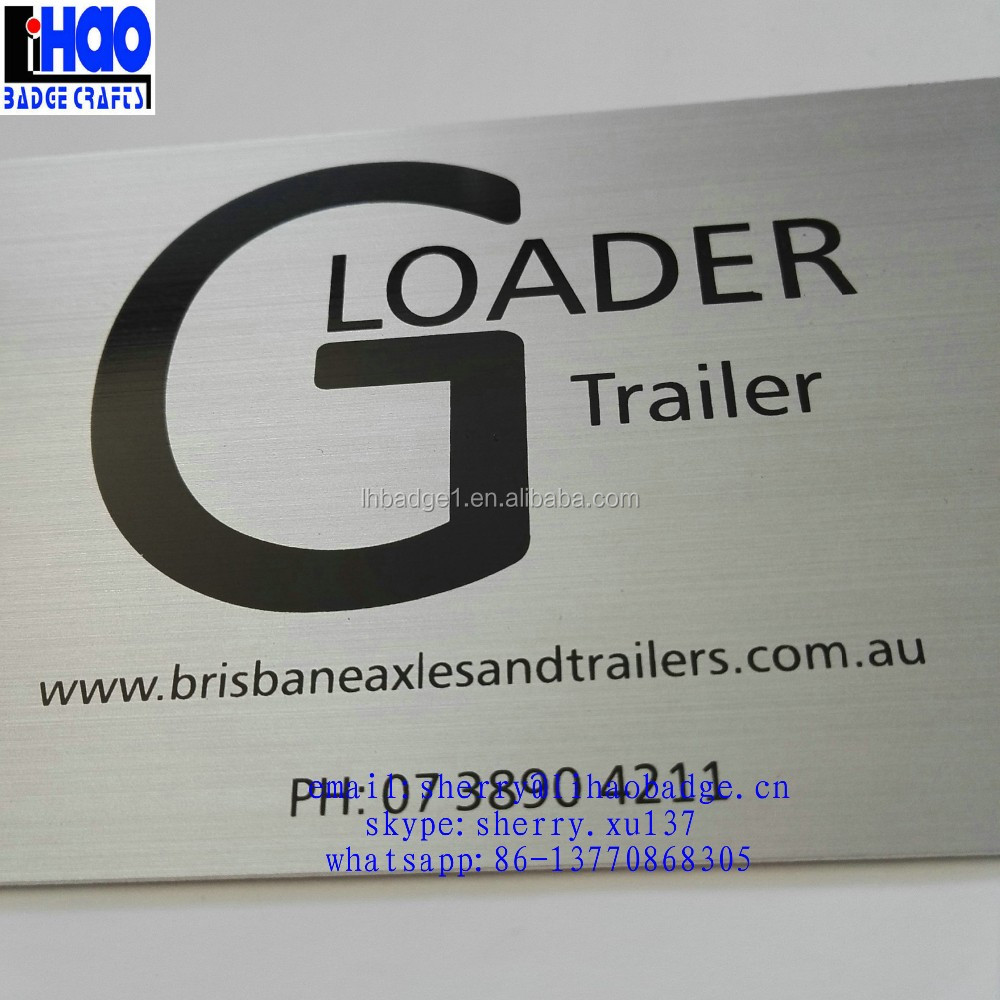 Brushed Metal Business Cards, Brushed Metal Business Cards Suppliers ...