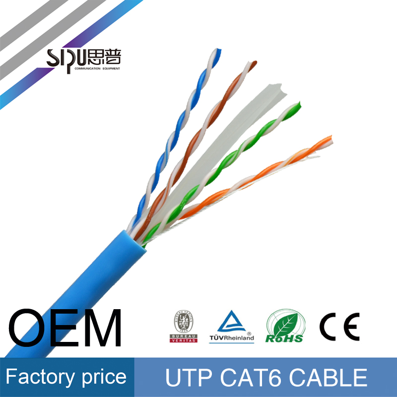 SIPU high speed internet rj45 connector broadband ethernet network lan price cable utp cat6