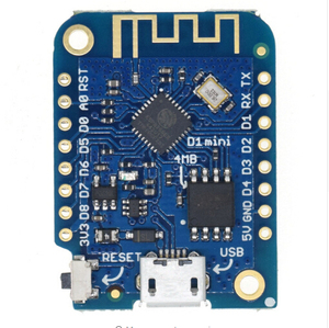 LOLIN D1 mini V3.1.0 - WEMOS WIFI Internet of Things development board based ESP8266 4MB MicroPython Nodemcu Compatible
