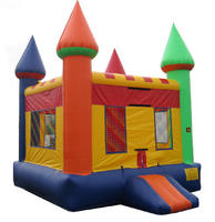 2016 new design outdoor PVC inflatable bouncer castle for sale