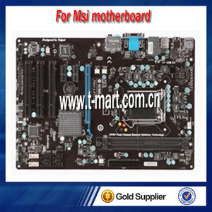 100% Working Desktop Motherboard For MSI PH61A-P35 fully test