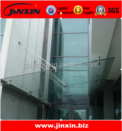 Stainless Steel Building Glass Canopy Fittings - Buy Building Glass Canopy  Fittings,Glass Awnings Canopies,Glass Entrance Canopies Product on