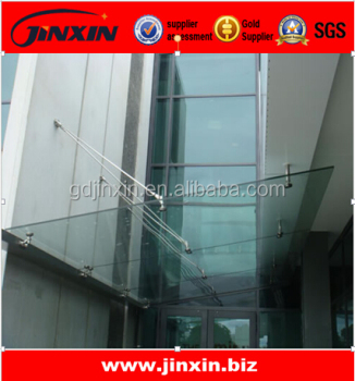 Stainless Steel building glass canopy fittings : stainless steel canopy fittings - memphite.com