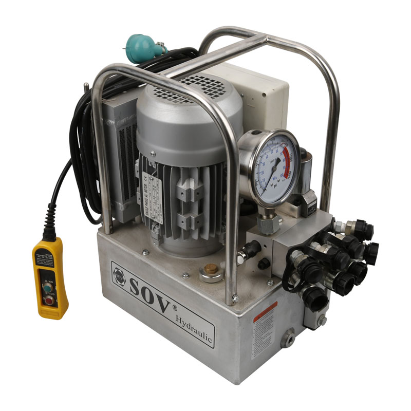 700bar Double Acting Motor Driven Hydraulic Piston Pump