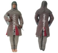 Stainless Steel Chainmail Mesh Armour