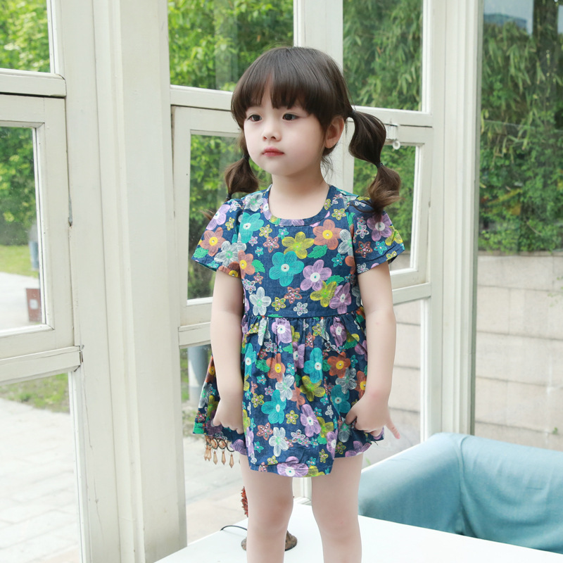 2015 Summer Style Korean Children Girls Dress PrincessKorean Toddler