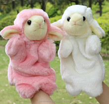 Funny Toys Sale Lovely Sheep Puppet Kids Love Hand Puppet New Christmas Gifts Finger Puppet