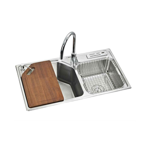Aisi 304 stainless steel vegetable bowl sink