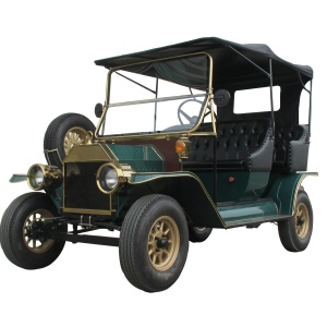 Hot unique design 5 passenger 4 wheels antique model T for d electric classic car for north america market