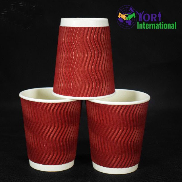 YORI wholesale eco-friendly cheap paper cup disposable hot coffee paper cups