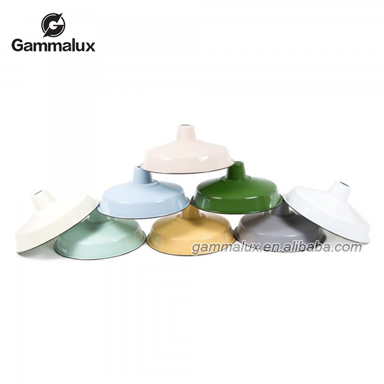 Hot-Selling Grey Light Shade,Enamel Light Shade, Enamel Lampshade