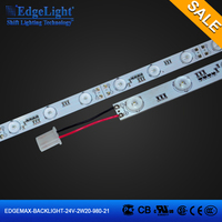 Edgelight led Net/ curtain/Matrix/Lattice type backlight led strip light optical source made in china