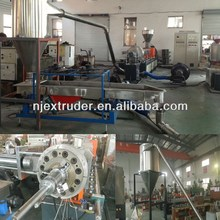 Co-rotating Parallel Double Screw Extruder/Masterbatch Granulator