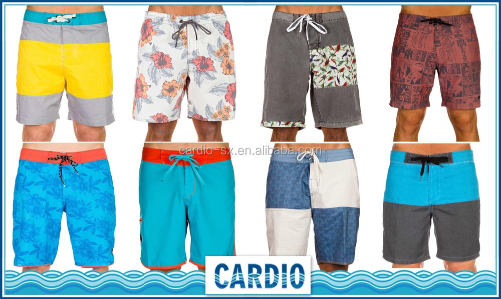 fashion swim wear mens shorts beach pants boardshorts 2016 ...