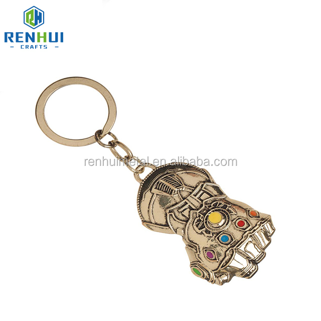 Cheap personalized fashion custom keychain new product metal craft keychain