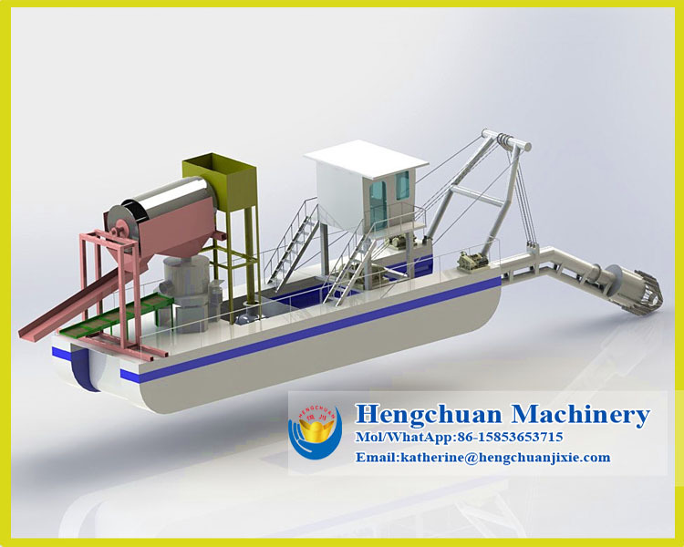 Economic And Low Cost Jet Suction Mini Gold Dredge From Hengchuan - Buy  Mini Gold Dredge,Dredge Pump,Sand Dredging Machine Product on Alibaba com