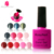 Nails salon professional uv gel polish top coat intense seal nail gel polish uv top coat base coat uv nail