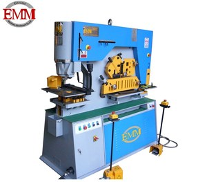 EMM Q35Y-30 hydraulic press cutting and notching ironworker machine