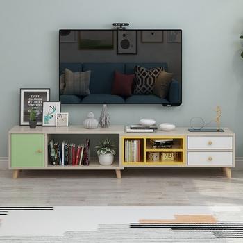 Wohnzimmer Möbel Unit Einfache Moderne Neue Modell Design Mdf Furnier  Laminat Holz Tv Rack Stehen Schrank Mit Schublade - Buy Tee Tisch,Tv ...