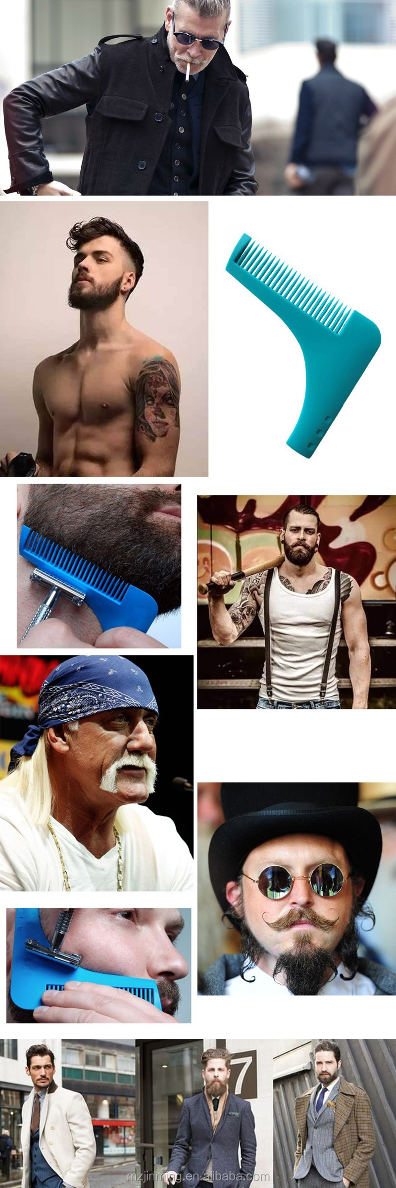 Brilliant Wholesale China Factory Outlet The Beard Bro Beard Comb Facial Short Hairstyles For Black Women Fulllsitofus