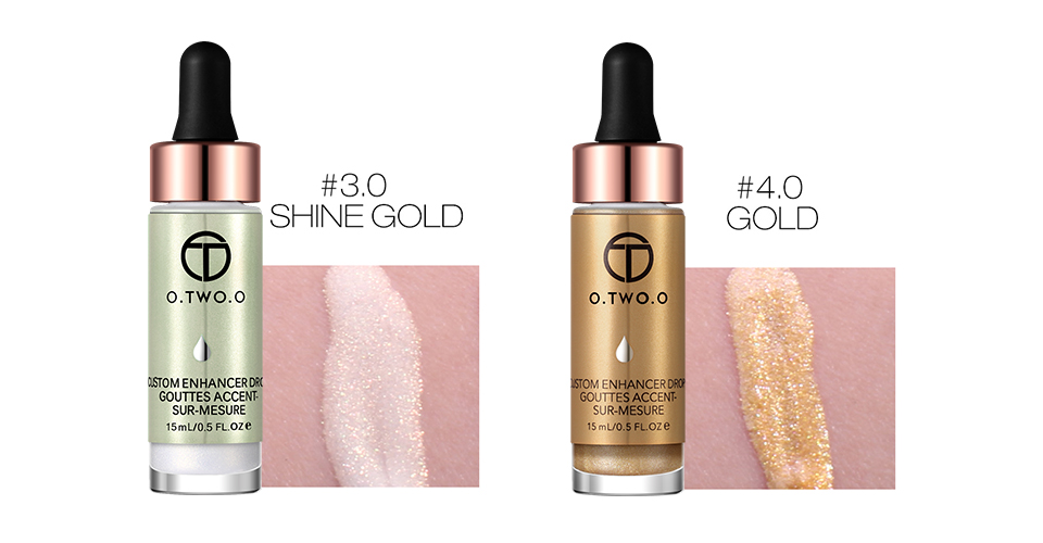 O.TWO.O Face Makeup Lips Eyes Shimmer Liquid Highlighter
