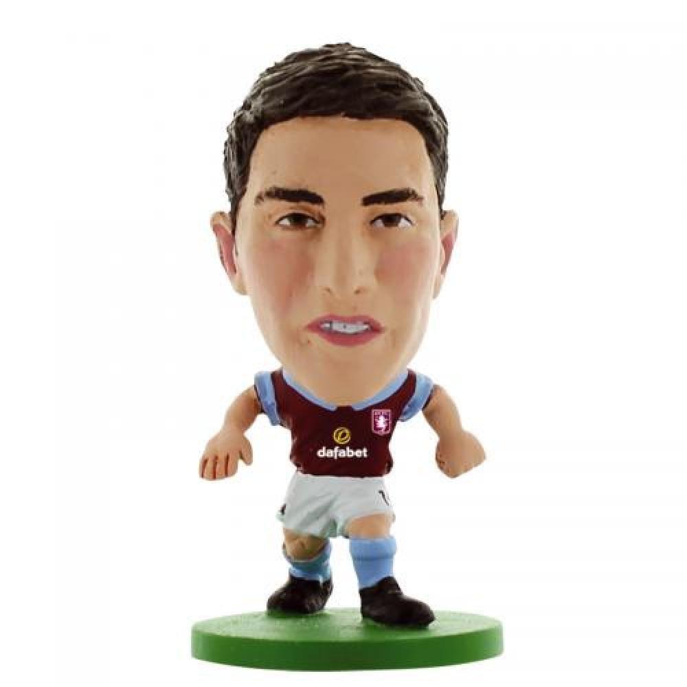 Football Gifts - Aston Villa Fc Gift Ideas - Official Aston Villa FC Lowton Soccerstarz Toy - A Great Present For Football Fans