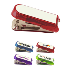 2018 Top fashion cartoon office supplies toothpaste shaped durable plastic cheap colorful mini stapler cute stapler