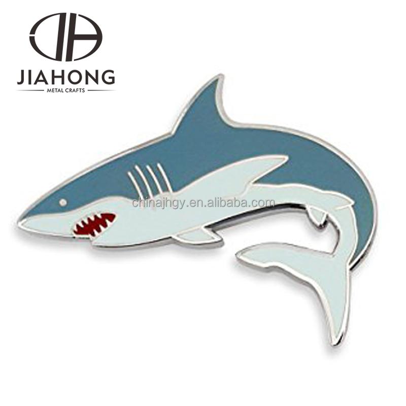 Crown Awards Bass Fish Lapel Pin Fishing Color Enamel Pins