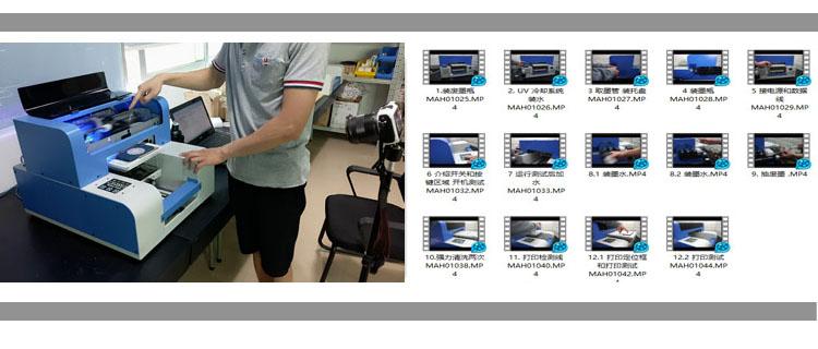 A4 formato uv led stampante penna per la matita e penna a sfera uv stampa digitale