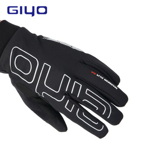 GIYO Winter Sport Gloves Bicycle Gloves for Men Outdoor Warm Cycling Gloves Full Finger