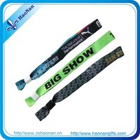 Special promotional gift woven hand merchandise for Special Events by identifying authorised or paid guests
