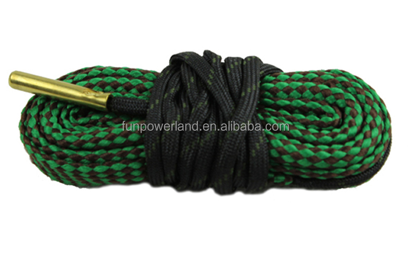 Funpowerland .22cal .223cal bore cleaner 5.56mm Caliber Rifle Cleaning Kit Gun Bore Cleaner
