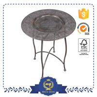 Promotional Unique Wrought Iron Table With Marble Top