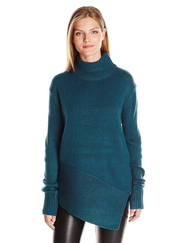 4b814fb118a1de The Fifth Label Women s The Unknown Asymmetrical Tunic Sweater