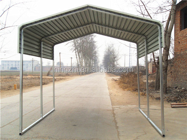 Car Roof Sheet Metal For Garage : Sheet metal carport prefab car shed price buy