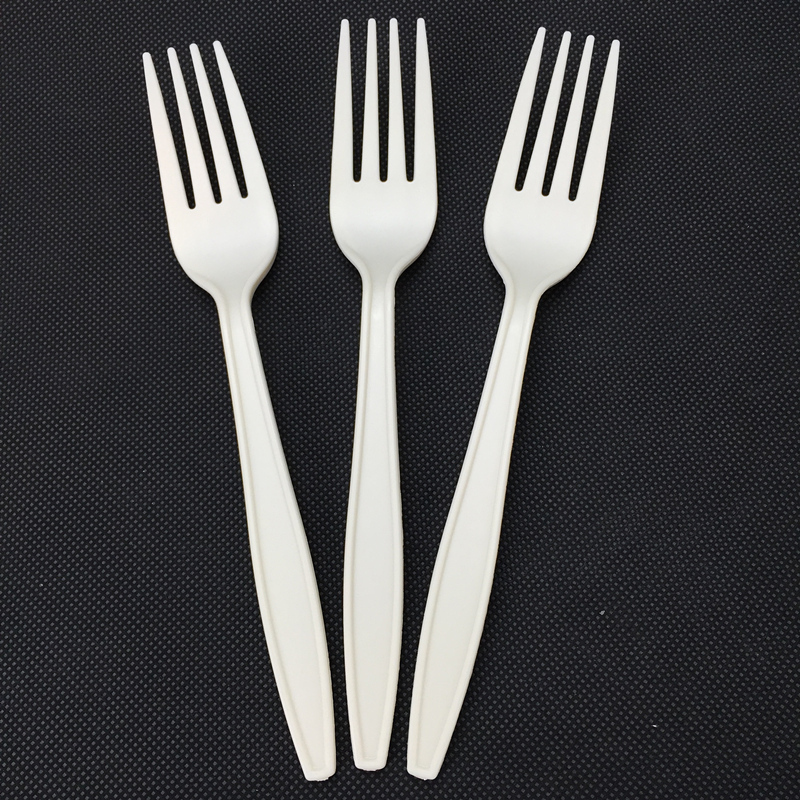 Disposable Biodegradable Corn Starch Forks