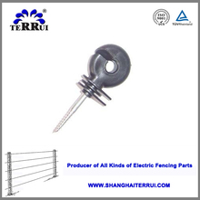 Electric Fence Ring/Corner/Post/Tape/Wrap around/Tube/End Strain/Screw-in Plastic Porcelain Insulator