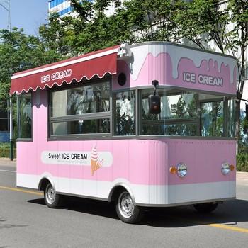 China Mobile Food Cart Moving Trucks Used Siristar Group Uranus SRJJIC