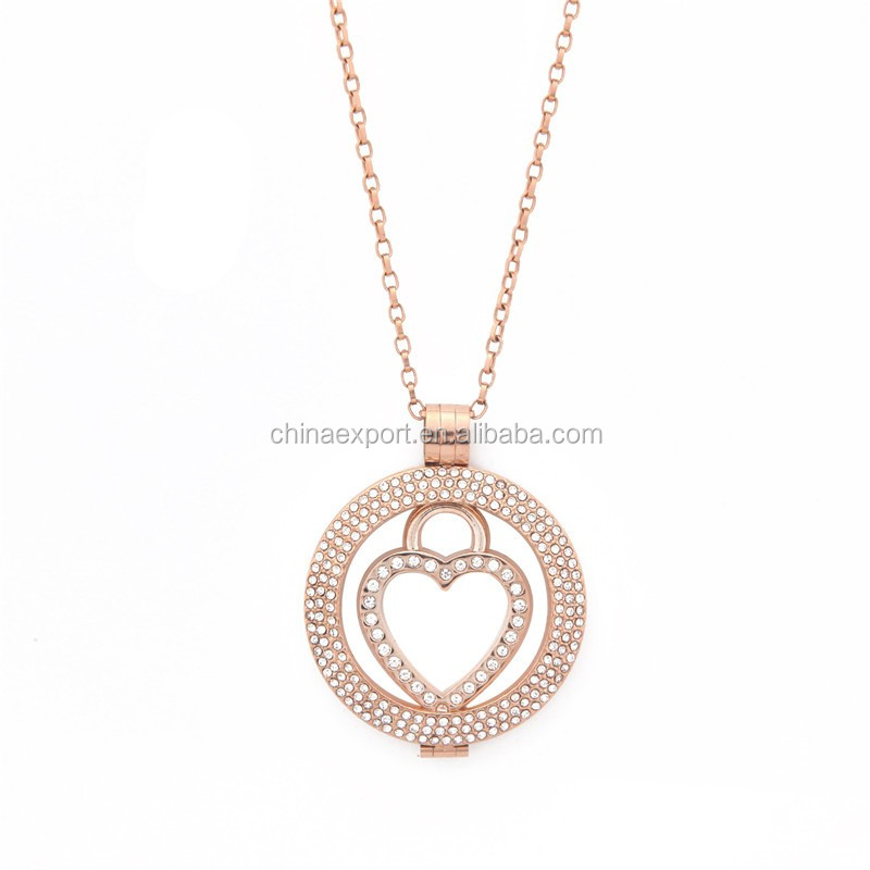 Sunshine jewelry love rose gold 33mm coin keeper