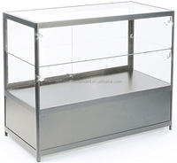glass watch display counter with cheap price
