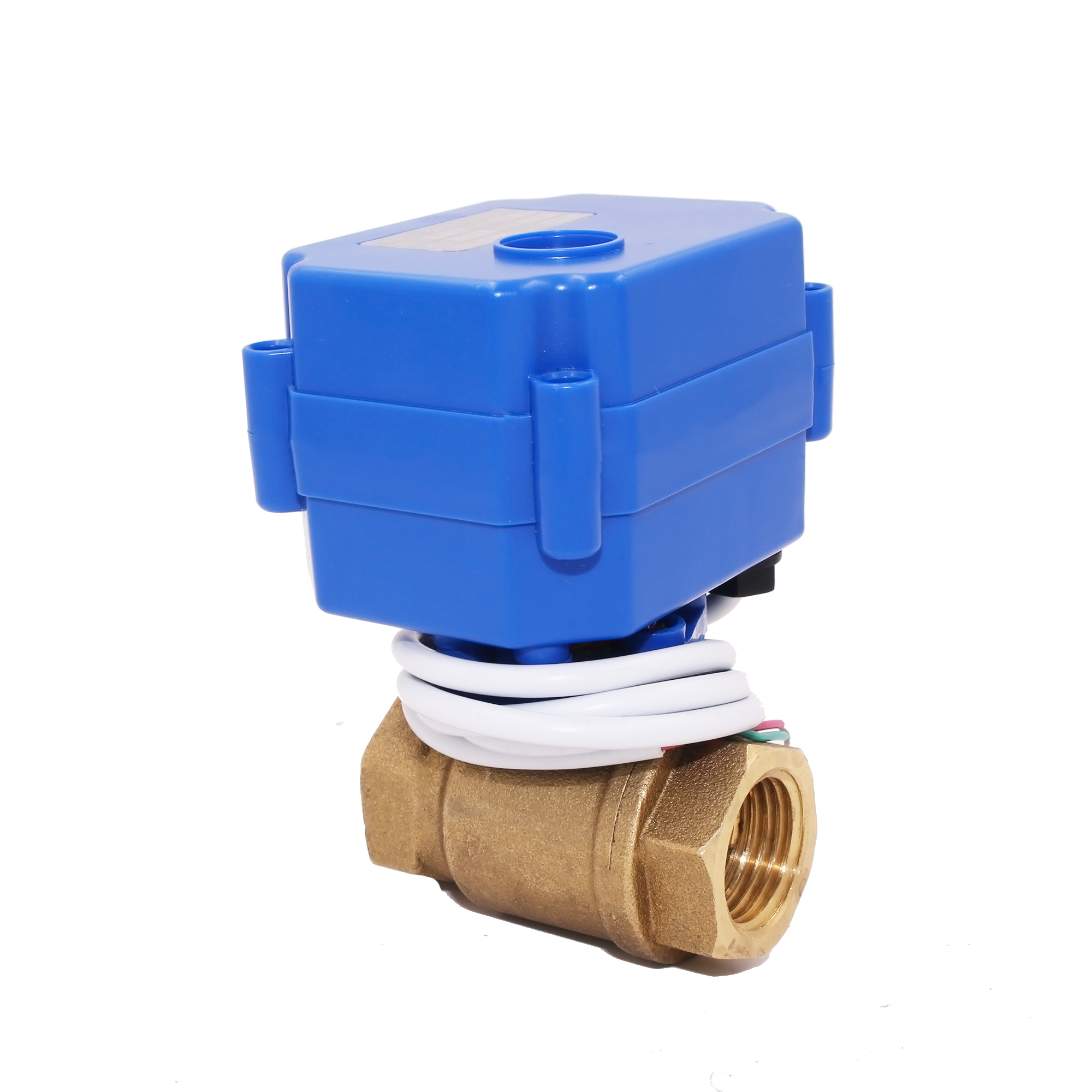 TF CWX-15Q mini brass electric ball valve DN15/DN20 for <strong>water</strong> <strong>treatment</strong>,IC card meters
