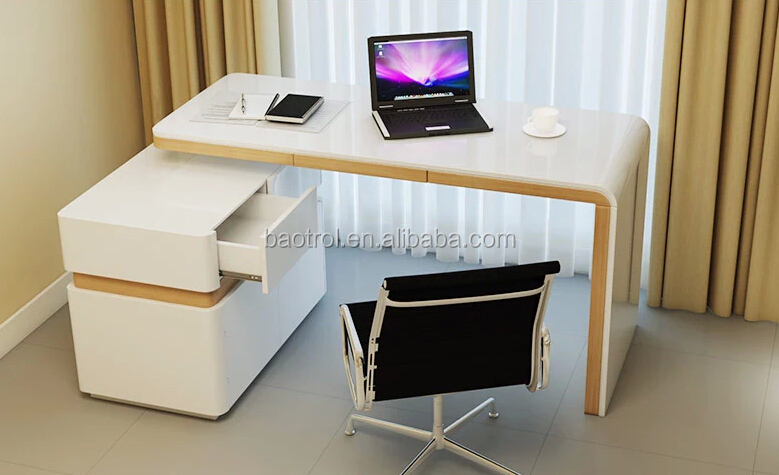 Delightful Special Table Design White Acrylic Desk Small Office Table