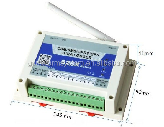 GSM GPRS temperature humidity controller FOR machine factory temperature control monitoring S262 - KingCare | KingCare.net